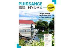 Couverture magazine Puissance hydro